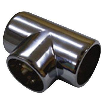 DC Chrome Tee Without Rotation Set Screw