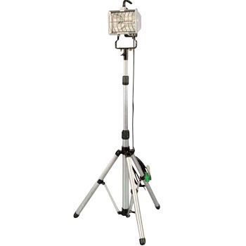 Single Light 500W Halogen Light Floor Stand Type, With 5M Electrical Ground