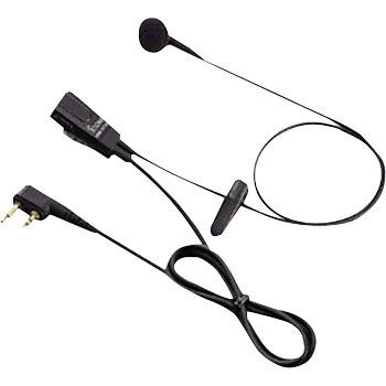 Tie Pin Type Earphone Microphone