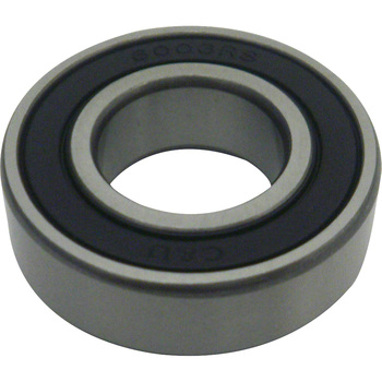 Ball Bearing 6000 2RS Series, Both Sides Contact Rubber Seal Type