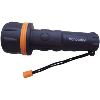 7 LED Pvc Flashlight, Rubeber Coated