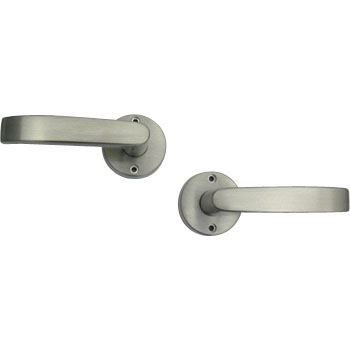 Door Lever J, Knob Rose No Lock