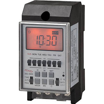 DIN Rail Agreement Digital Calendar Timer