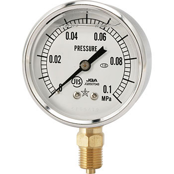 Glycerine Filled Pressure Gauge, Φ60