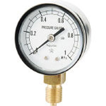 Small Pressure Gauge A form Vertical phi50