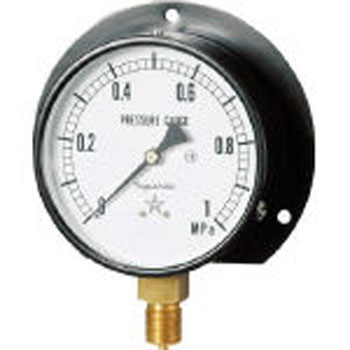 Standard Vibration proof Pressure Gauge (B type Vertical ・Φ75)