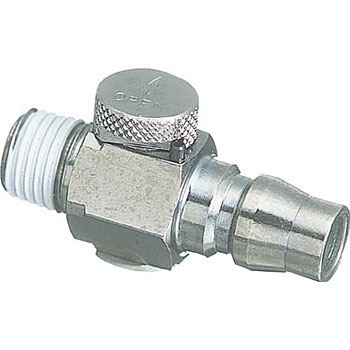 Flow Adjustment Valve Coupling Plug R1/4