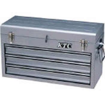 CHEST (3-DRAWER, Metallic Silver)