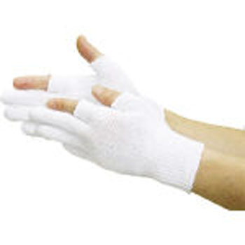 Anti Skid Gloves, 2 Fingers Half