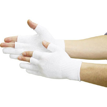 Anti Skid Gloves, 3 Fingers Half