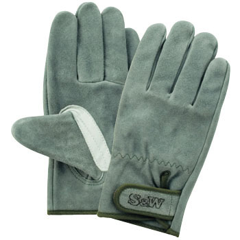 Cowhide leather oil magic gloves,SW-32B
