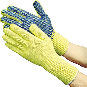 Aramid Power Anti-Slip Gloves, Teijin Aramid Twaron And Cotton Interweave