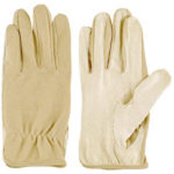 Pig Leather Polyester Gloves