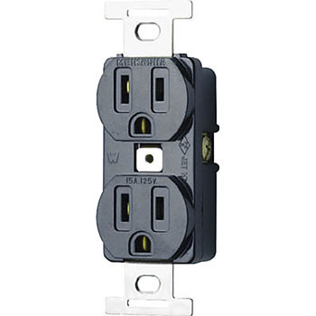 Embedded Double Outlet Grounding 2P