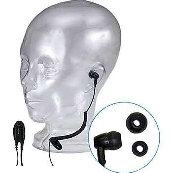 Ear Headphone With Microphone, Tie Clip Microphone