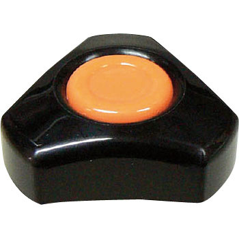 Knob Star Orange Type A 10pcs