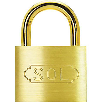 SOL Removable Cylinder Padlock No.2500,Same Key Type