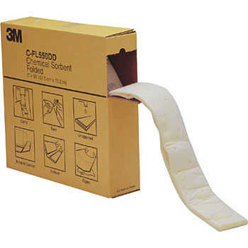 3M Liquid Absorbent Chemical Sorbent, Folded type