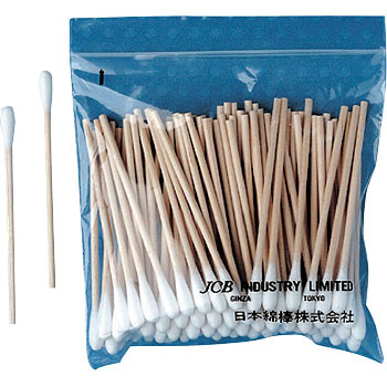Industrial Cotton Swab, Wooden Shaft