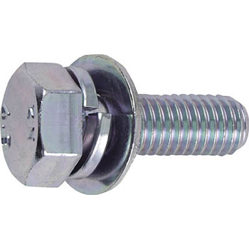 Washer assembled bolt (trivalent chromate , trimmer type)