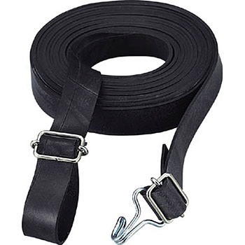Rubber Rope Fitting, W Hook and Buckle