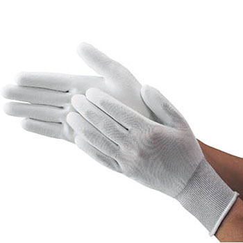 Urethane Fit Gloves White