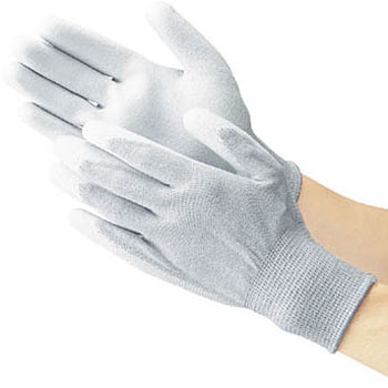 Anti-Electrostatic Gloves, Palms Coated With Polyurethane