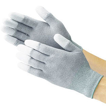 Anti-Electrostatic Gloves, Fingertips Coated With Polyurethane