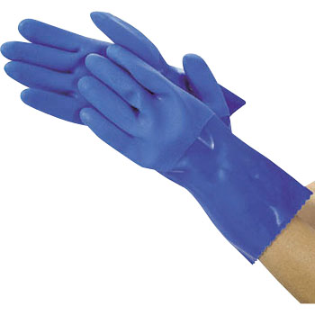 Oil-Resistant Vinyl Gloves, Long