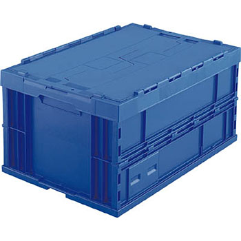 Foldable Container, Lid Integrated With Main Body, 75L Type