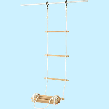 Evacuation rope ladder