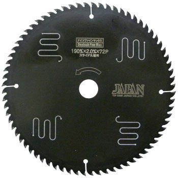 "Tip Saw, ""Deutsch Fine Max"", For Slide Circular Saw"