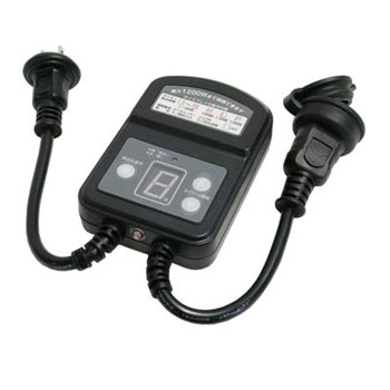 Rainproof Type Light Sensor Timer 12