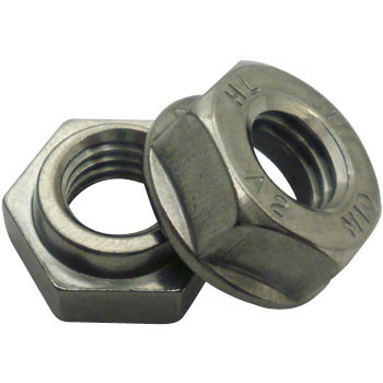 Hard Lock Nut, Stainless Steel