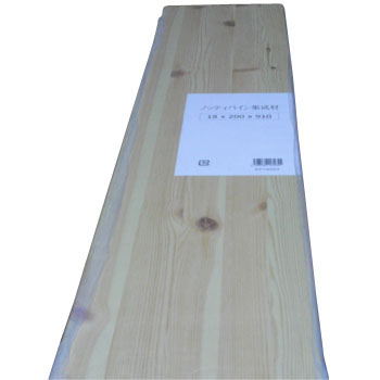 Knotty Pine Glued Laminated Wood 18 X 910