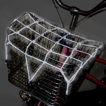 Reflective Basket Net