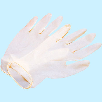 Queen Natural Rubber Gloves, Powder Free