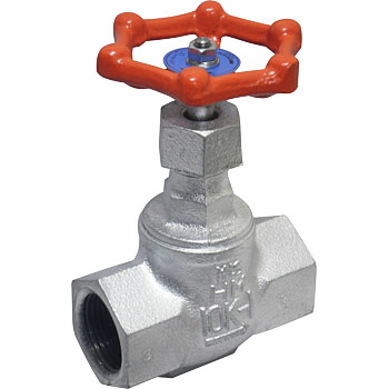 Malleable General Use 10K Type PTFE Disc Round Shaped Valve
