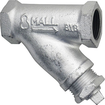 Malleable General Use 10K Type Y-Shaped Strainer, Screwed