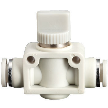 Hand Valve Union, Straight, Three- Way Valve