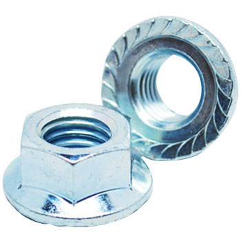 Flange Nut, Iron / UnichromeSmall Boxes