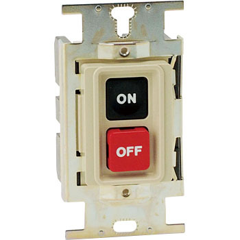 Hi-Pro Compact Push Button Switch, Embedded Type, Without Plate