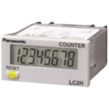 Total Electronic Counter Standard Type, One-Touch Type Mounting And Panel Mounting