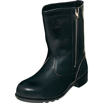 Half Boots with Zipper CH311