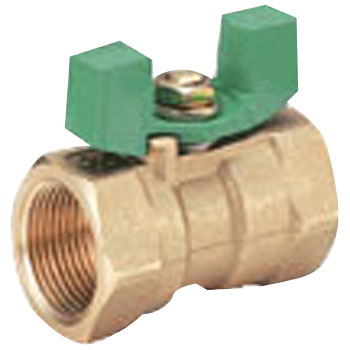 600 Type Brass Ball Valve, Reduced Bore, Butterfly Shaped HandleTkw Series