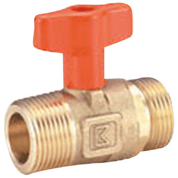10K Orange Ball, Standard Bore Taper Male Thread x Parallel Male Thread, S1 Series