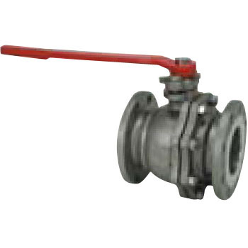 10K stainless steel ball valves (full bore) (flange type lever type)