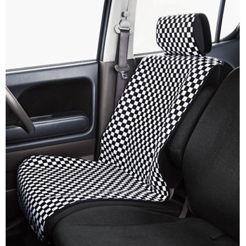 Waterproof Seat Covers Checker Neo, For Front
