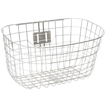 Round Wire Basket, Stainless Steel