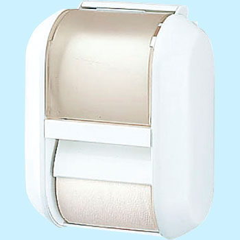 One Touch Toilet Paper Holder, Spare Holder